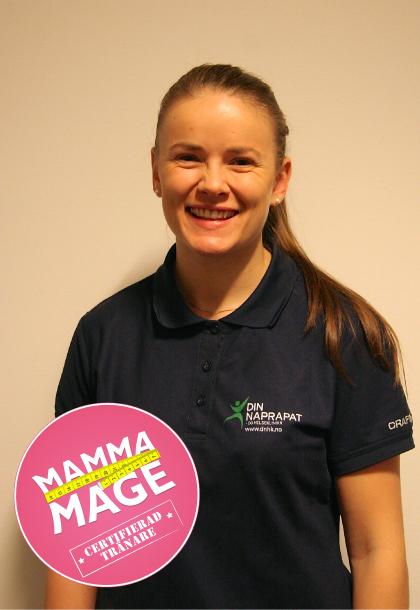 Mammamage-instruktør Ingrid Oskarsson