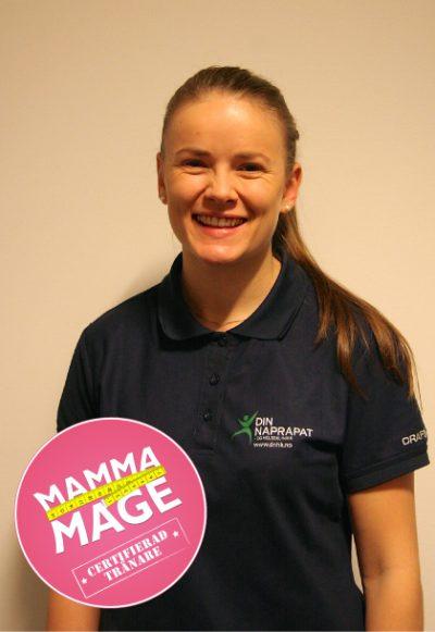 Mammamageinstruktør Ingrid Oscarsson